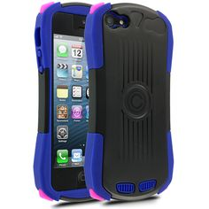Cellairis Talo Case for Apple iPhone 5 - Purple/Light Pink