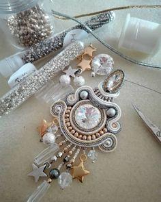 Twinkle, twinkle little star... Work in progress #adelslaboratory #alessandradelvitto #adeloriginal #design #lab #costumejewelry #bijoux #accessori #gioielleriaalternativa #soutache #earrings #soutacheearrings #fashion #fashionjewelry #fashiondesigner #fashionblogger #moda #milano #varese #nyc #miami #losangeles #paris #london #handmade #handembroidered #madeinitaly
