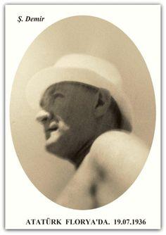 Atatürk Florya'da. 14-30.07.1936