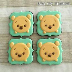 Winnie the Pooh tsum tsum cookies