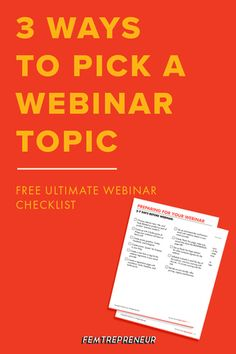 Are you struggling to pick a webinar topic that your target audience will love? In this episode, we're talking through exactly how to find the perfect topic so you can set your webinar up for success! Business Marketing, Business Tips, Social Media Marketing, Online Business, Digital Marketing, Creative Business, Business Launch, Marketing Strategies, Business Entrepreneur