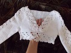 Личное фото Crochet Shirt, Crochet Jacket, Crochet Crop Top, Loom Knitting, Knitting Patterns, Crochet Patterns, Crochet Woman, Crochet Videos, Crochet For Kids
