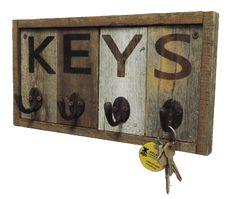 Wall Key Holder - Rustic Reclaimed Wood