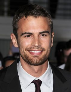 SEXINESS !!!!!!!!!!!!!!!I LOVE HIM #Divergent star Theo James has many sexy looks, from silly to smoldering.