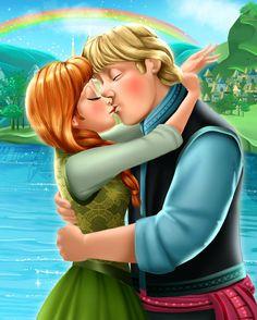 Frozen - Kristoff Bjorgman x Princess Anna - Kristanna