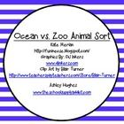 Ocean vs. Zoo Animal Sort ...