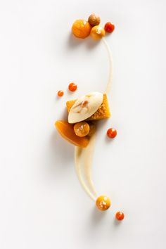 caramel, apple and walnut