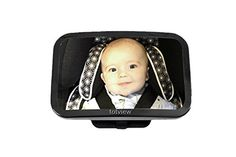 Baby Back Seat Car Mirror *totviewTM* For Rear Facing Infant Seat by GroCreations. Large, Lightweight Convex Safety Mirror for a perfect view of your child. Simple to Install, Fully Adjustable & Shatterproof. A MUST for Every Parent! Try it out TODAY! GroCreations http://www.amazon.com/dp/B00Z1INNAU/ref=cm_sw_r_pi_dp_7-7Evb0V335PQ