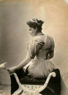 Grand Duchess Elisaveta Feodorovna, 1890s. Widowed when her husband was shot by an assassin before the Revolution, she would in her turn be murdered by the Bolsheviks in 1918.