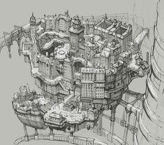 Hekseville - Characters & Art - Gravity Rush