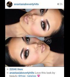 Great makeup and beautiful model