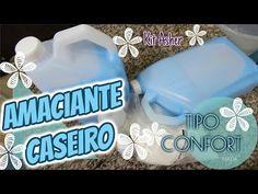 AMACIANTE CASEIRO SUPER CONSISTENTE TIPO CONFORT (KIT ASHER) - YouTube