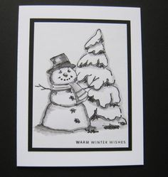 snowman hat  sold individually made by: Art Impressions Rubber Stamps. You can find these stamps @ patsrubberstamps.com (free shipping on this site). We take most major credit cards and pay pal. Or you can go to my ebay store and purchase it there.