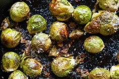 Roasted Garlic Brussels Sprouts How To Roast And Eat . Roasted Brussels Sprouts Crispy Caramelized And Delicious! Easy Restaurant Style Crispy Brussel Sprouts Girl And . Roasted Sprouts, Sprouts With Bacon, Parmesan, Thanksgiving Menu Planner, Chestnut Recipes, Liver And Onions, Green Beans And Tomatoes, Simply Recipes
