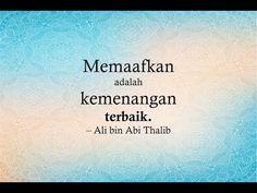 49 kata mutiara islam ali bin abi thalib - YouTube Quotes Sahabat, Words Quotes, Best Quotes, Love Quotes, Islamic Messages, Islamic Quotes, Ali Bin Abi Thalib, Imam Ali Quotes, Doa Islam