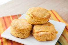 Sweet Potato Biscuits {Macaroni and Cheesecake}