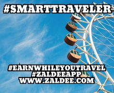 Be a #SmartTraveler Use #ZaldeeApp (www.zaldee.com) and earn while you travel.  It takes less than minute to list your journey. ❤️Download ZALDEE app. Zaldee® connects travelers and senders  Traveler - earn while you travel® by utilizing excess baggage space available with you while traveling anywhere across countries, states or cities. ✈️ #ZALDEE #EarnWhileYouTravel #ZaldeeApp #ShipOnDemand #package #luggage #baggage #journey #courier #ExcessBaggage #shipping #travel #traveling…