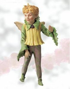 Retired Cicely Mary Barker Sow Thistle Flower Garden Fairy Figurine Ornament | eBay