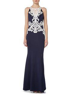 Praline maxi dress
