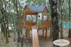 casinha de brincar - Casinha com Árvores