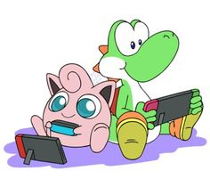 Super Smash Bros, Game Character, Funny Comics, Yoshi, Crossover, Cute Art, Video Game, Mario, Nintendo