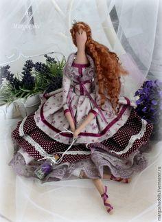 Лавандовая принцесса на горошине Николь – купить или заказать в интернет-магазине на Ярмарке Мастеров | Принцесса на горошине Николь-кукла в стиле…