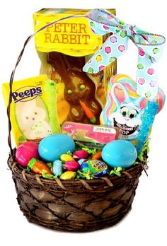 Egg stra special easter gift basket for egg stra special people gourmet easter bunny and eggs candy gift basket holiday adds negle Choice Image