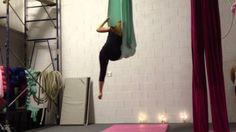 Aerial Dance on Sling to Katy Perry