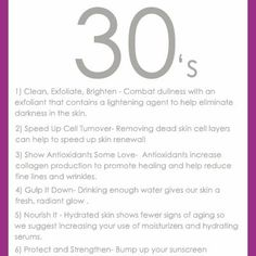 Skin Care Tips By Age {Skin Care}