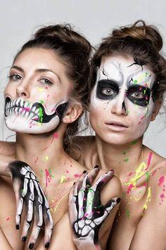 Split paint masks