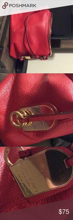 Henri bendel hobo 12 x10 leather hobo has initials RLA henri bendel Bags Hobos