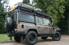 Land Rover Defender 110 with full Foley overland Spec - Built to order