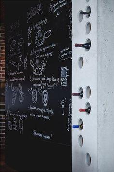 Ukranian Loft, Kiev, 2011 #blackboard #wall
