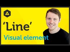 'Line' Visual element of Graphic Design / Design theory Ep2/45 [Beginners guide to Graphic Design] - YouTube