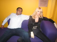 With Madonna