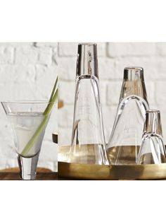 Contemporary Cocktail/Champagne Glasses by Absolution