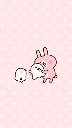 kanahei カナヘイ wallpaper墙纸 卡通兔兔