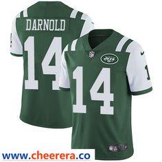 Team Sports America New York Jets Green Sam Darnold #14 Vapor Limited Jersey