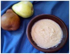 Harleian MS. 279 (ab 1430) - Chardewardon - Pear Custard - velvety custard flavored with pears, cinnamon and ginger.  Medieval comfort food at it's finest!