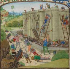 « Chroniques sire JEHAN FROISSART » Date d'édition :  1401-1500  Français 2645 Folio 116v