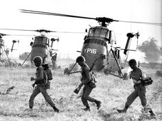 A Larry Burrows photograph from Vietnam, March, 1965