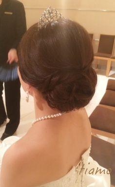 大人可愛い3スタイルチェンジ♡素敵な花嫁さまの1日 |大人可愛いブライダルヘアメイク『tiamo』の結婚カタログ