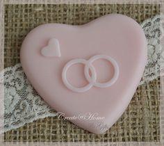 Zeepjes hartje trouwringen. Per 3 | Hartjes | Joy@home