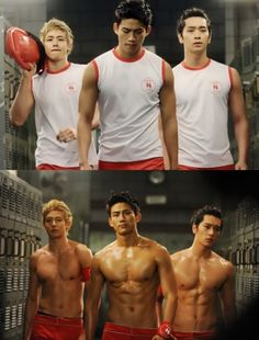 2PM *I can just see a Taecyon fan fiction with the whole lifeguard situation... Maybe that's my mind telling me to write one...