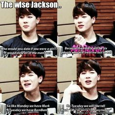 Jackson knows whats up xD