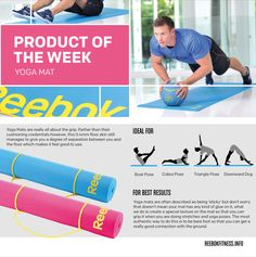 Get out doors this summer and increase your core strength with the Reebok Yoga Mat :The Yoga Mat #LIVEWITHFIRE #reebokfitness #fitness #yogamat