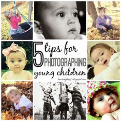 5 Tips for Photographing Young Children!