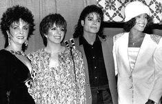 Elizabeth Taylor Liza Minelli Michael Jackson and Whitney Houston.