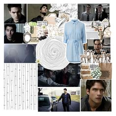 Code Breaker || Teen Wolf by x-jen-cozy-wolves-x on Polyvore featuring polyvore fashion style MANGO Topshop Ippolita H&M NARS Cosmetics Bobbi Brown Cosmetics WALL Pier 1 Imports Brinkhaus Clips Assouline Publishing Episode Péro clothing TeenWolf Season1