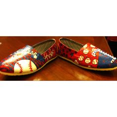 Painting on Canvas Shoes :)